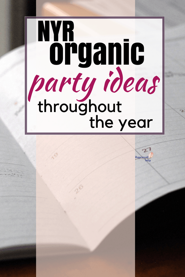 Neal's Yard Remedies or other Direct Sales Party Ideas for each month of the year. #directsales #nyrorganic #facebookparties Facebook party ideas and more!