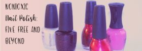 Nontoxic Nail Polish: 5 Free and Beyond