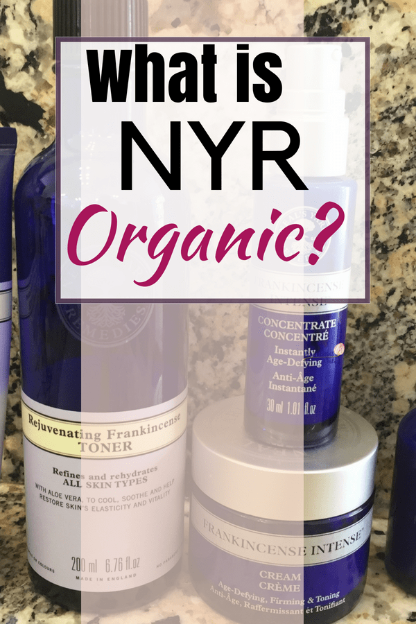 What is NYR Organic? How is it different than Neal's Yard Remedies? Read about the fabulous organic skincare here!
