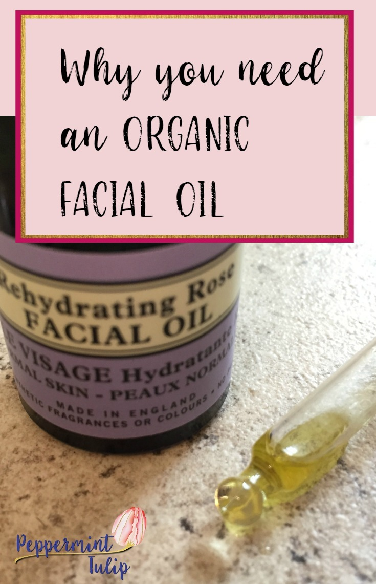 Why you need an organic facial oil. Also, how and when to use facial oils and some suggestions.