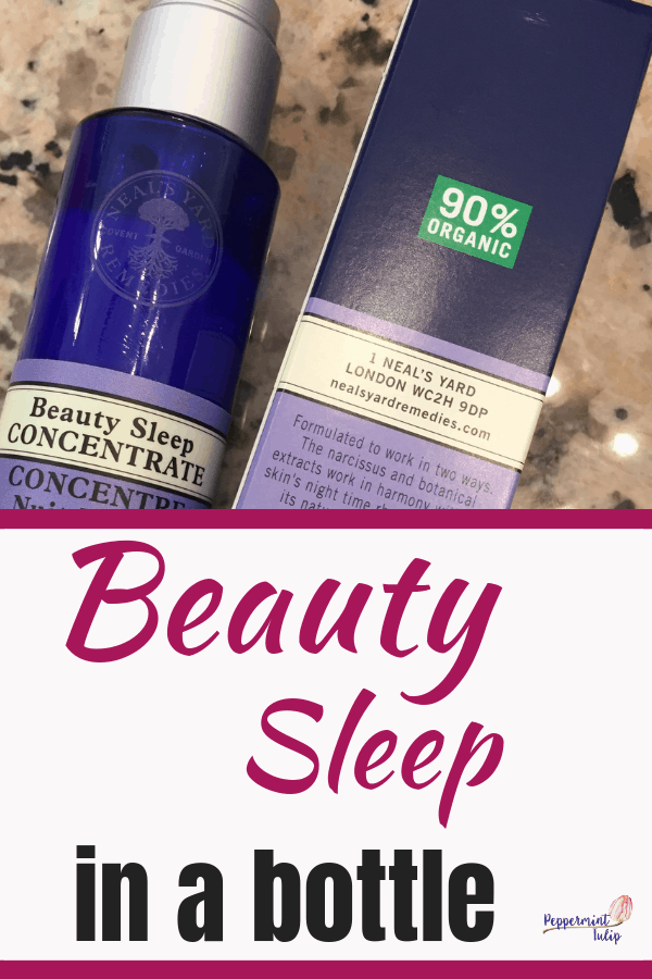 Beauty Sleep Concentrate by Neal's Yard Remedies. Check out the organic ingredients and essential oils.
