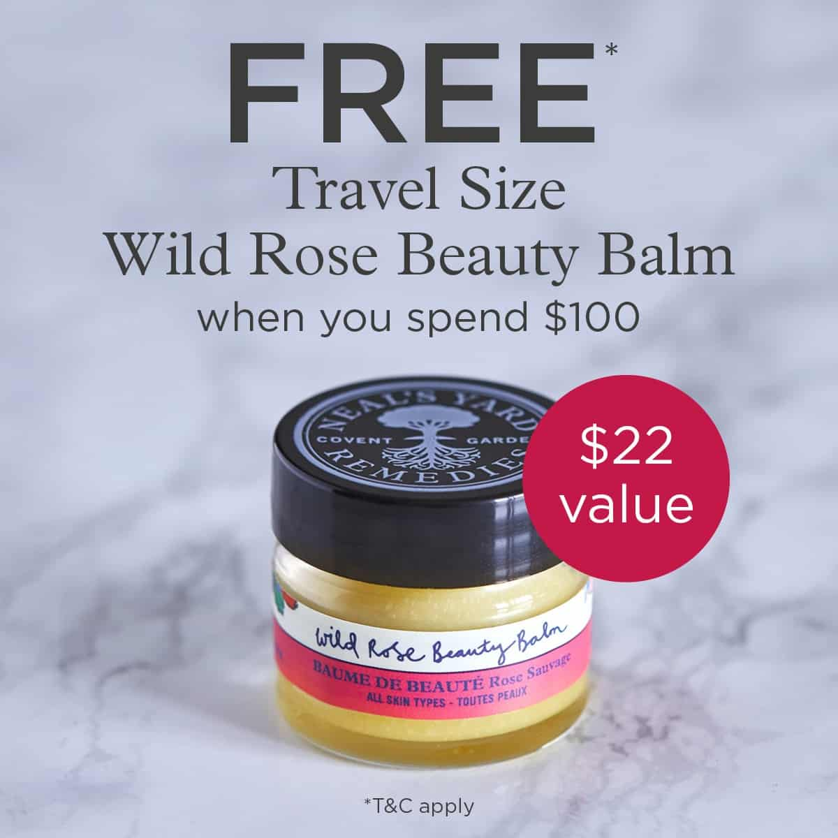 Grab this FREE Wild Rose Beauty Balm Travel Size offer with $100 order. Intrigued by this product? Check out this article or come ask questions in my VIP group: https://www.facebook.com/groups/138483196559118/