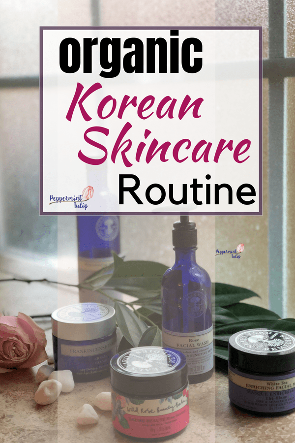 ORGANIC KOREAN SKINCARE ROUTINE with products from Neal's Yard Remedies! #organicskincare #kskincare #koreanskincare #nealsyardremedies