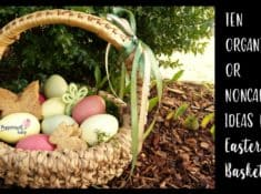 Ideas for an organic Easter Basket