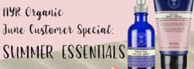NYR Organic June Customer Special: Summer Essentials