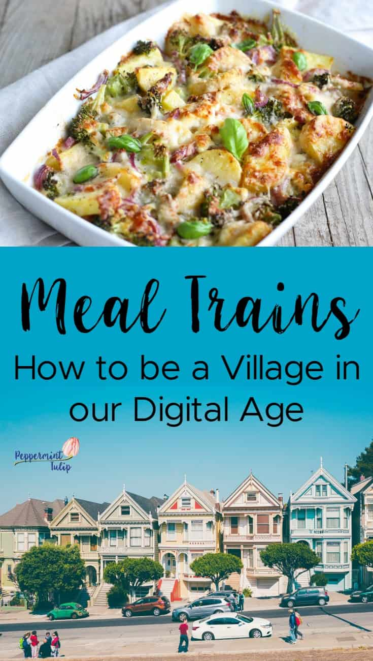 meal train tips and suggestions