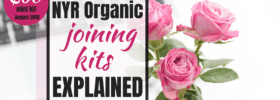 NYR Organic Consultant Joining Kit Explained