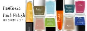 Nontoxic Nail Polish for Spring 2017