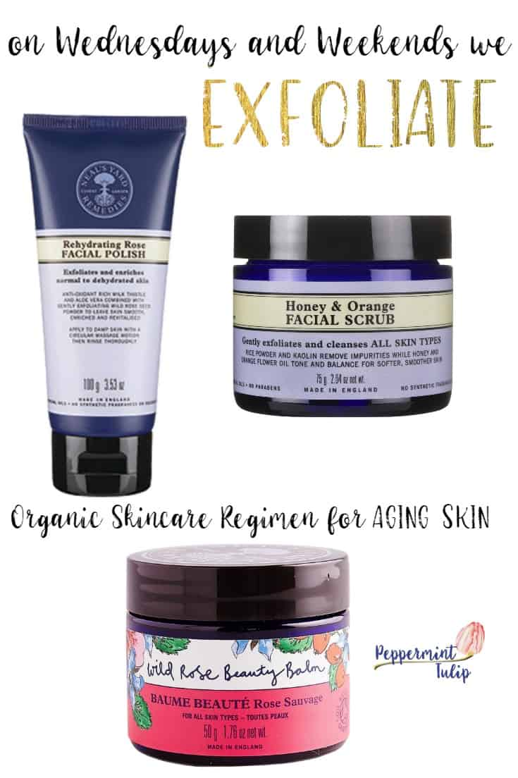 exfoliating products from Neal's Yard Remedies