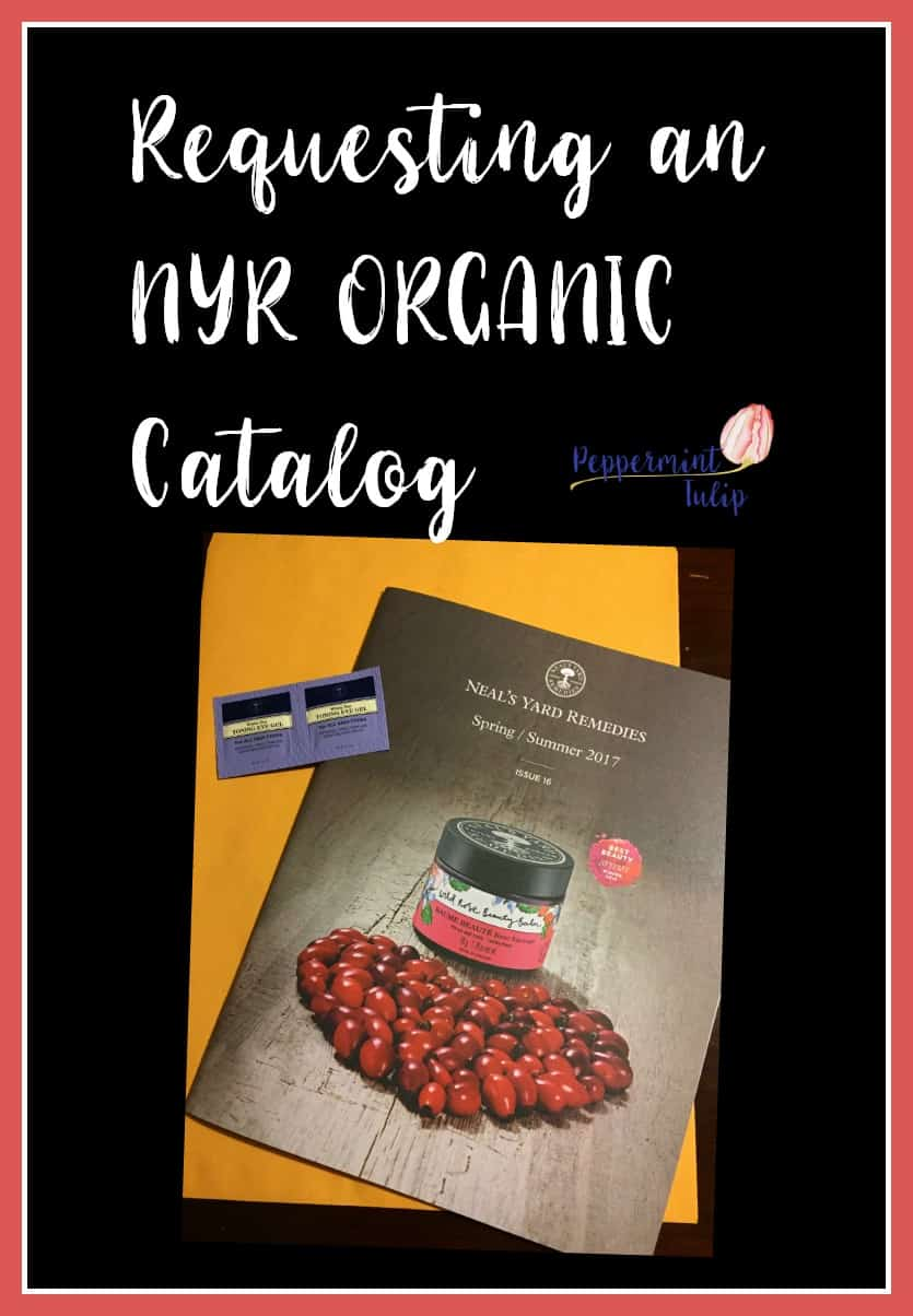How to request an NYR Organic catalog | Neal's Yard Remedies