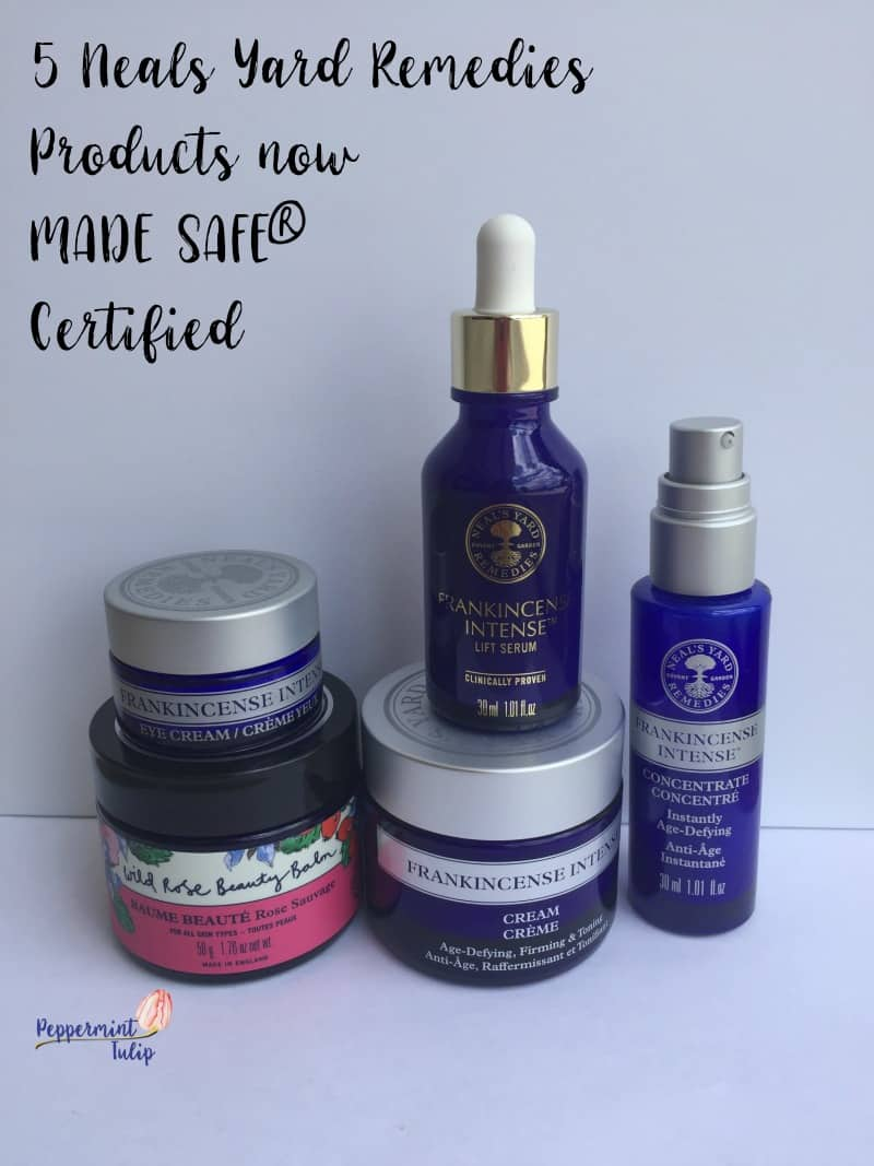 It was just announced that NYR Organic now has the MADE SAFE® certification on some of my favorite products… with more to come | NYR Organic | Neal's Yard Remedies |