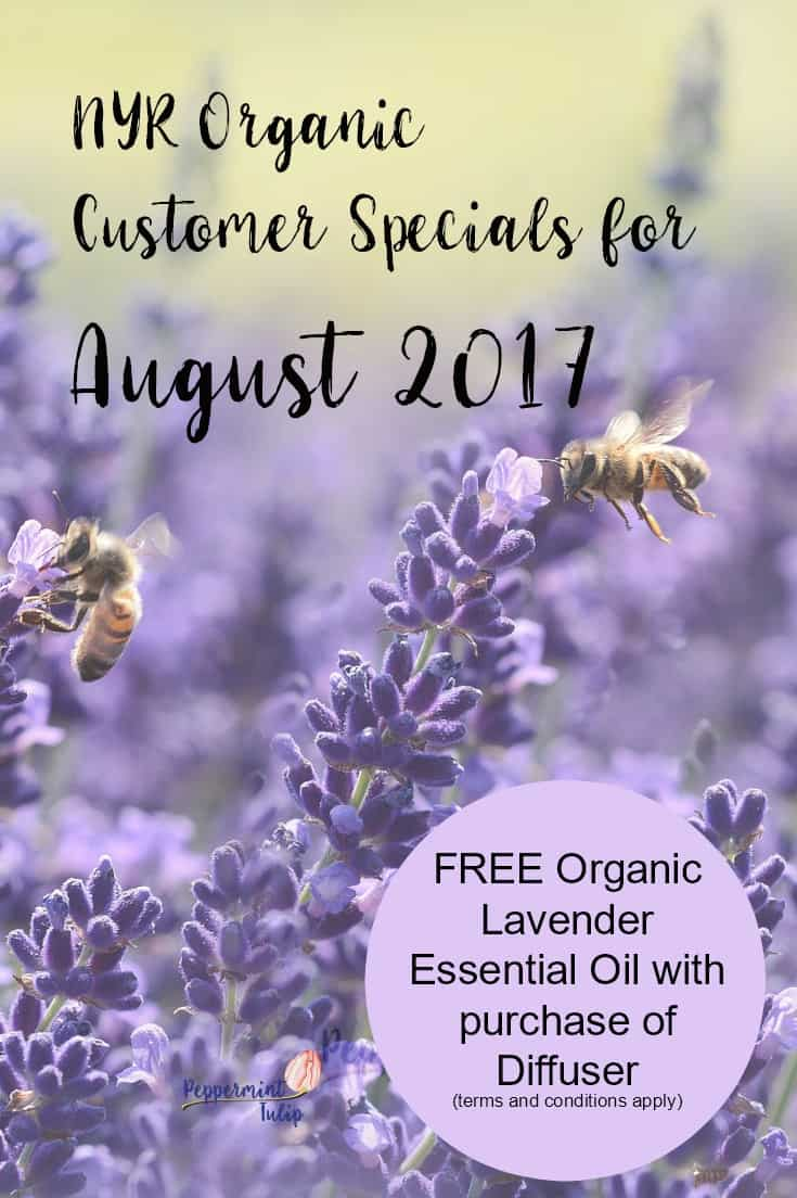 NYR Organic Customer Specials for August   Lavender Essential Oil   Neal's Yard Remedies