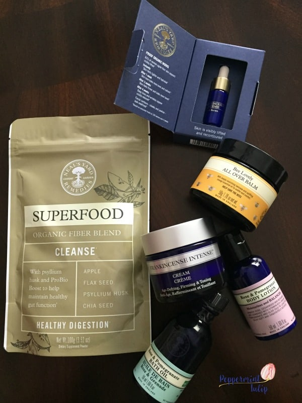 NYR Organic conference swag. | Neal's Yard Remedies