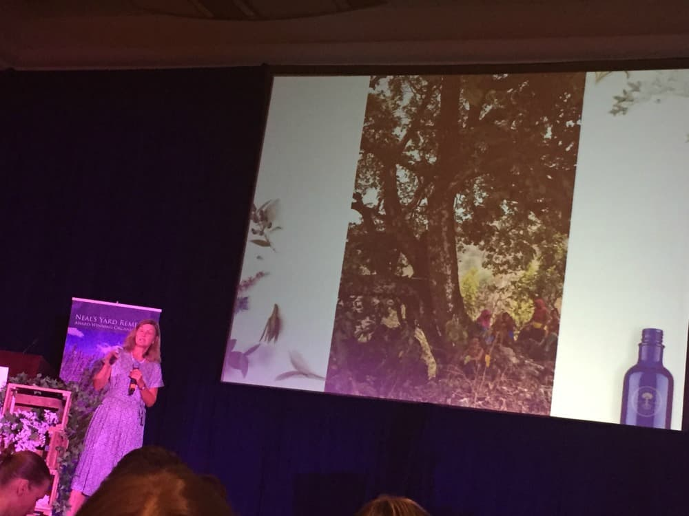 Susan Curtis at the NYR Organic Conference | Neal's Yard Remedies