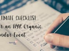 Checklist for an NYR Organic Vendor Event | Neal's Yard Remedies | Direct Sales