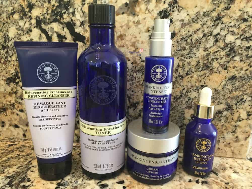 Frankincense Intense Cream and more products. #frankincenseintense #nyrorganic #nealsyardremedies Organic Skincare #organicbeauty