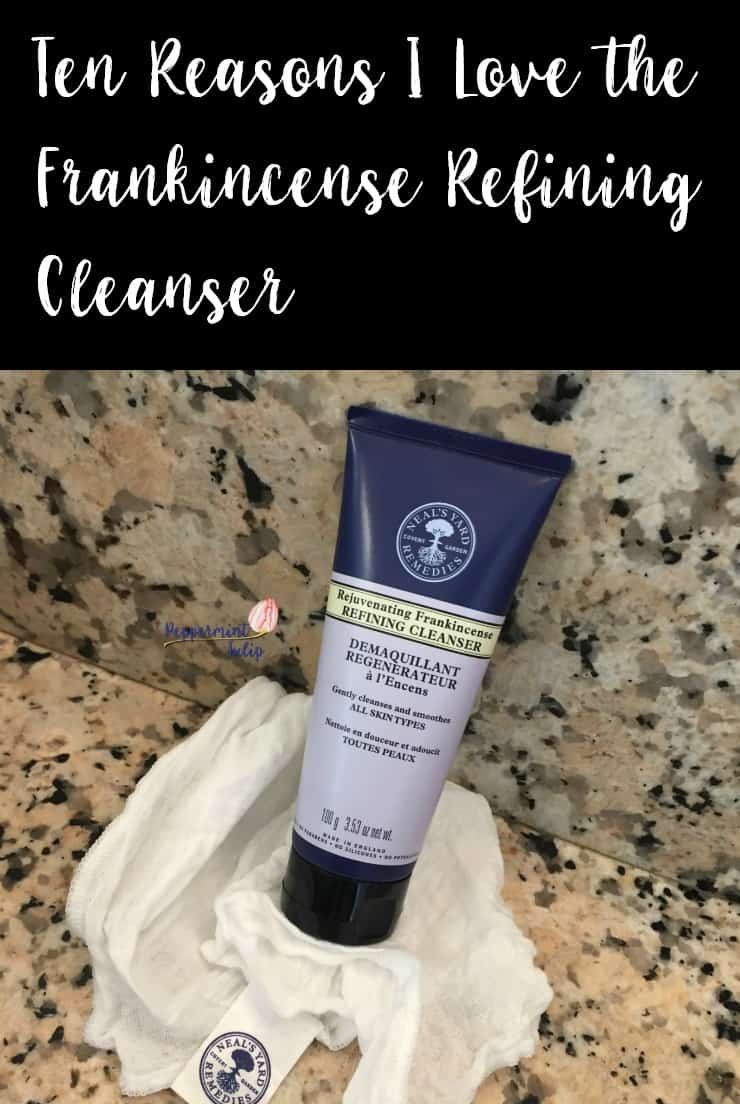 Ten Reasons I Love the Frankincense Refining Cleanser from Neal's Yard Remedies. NYR Organic.