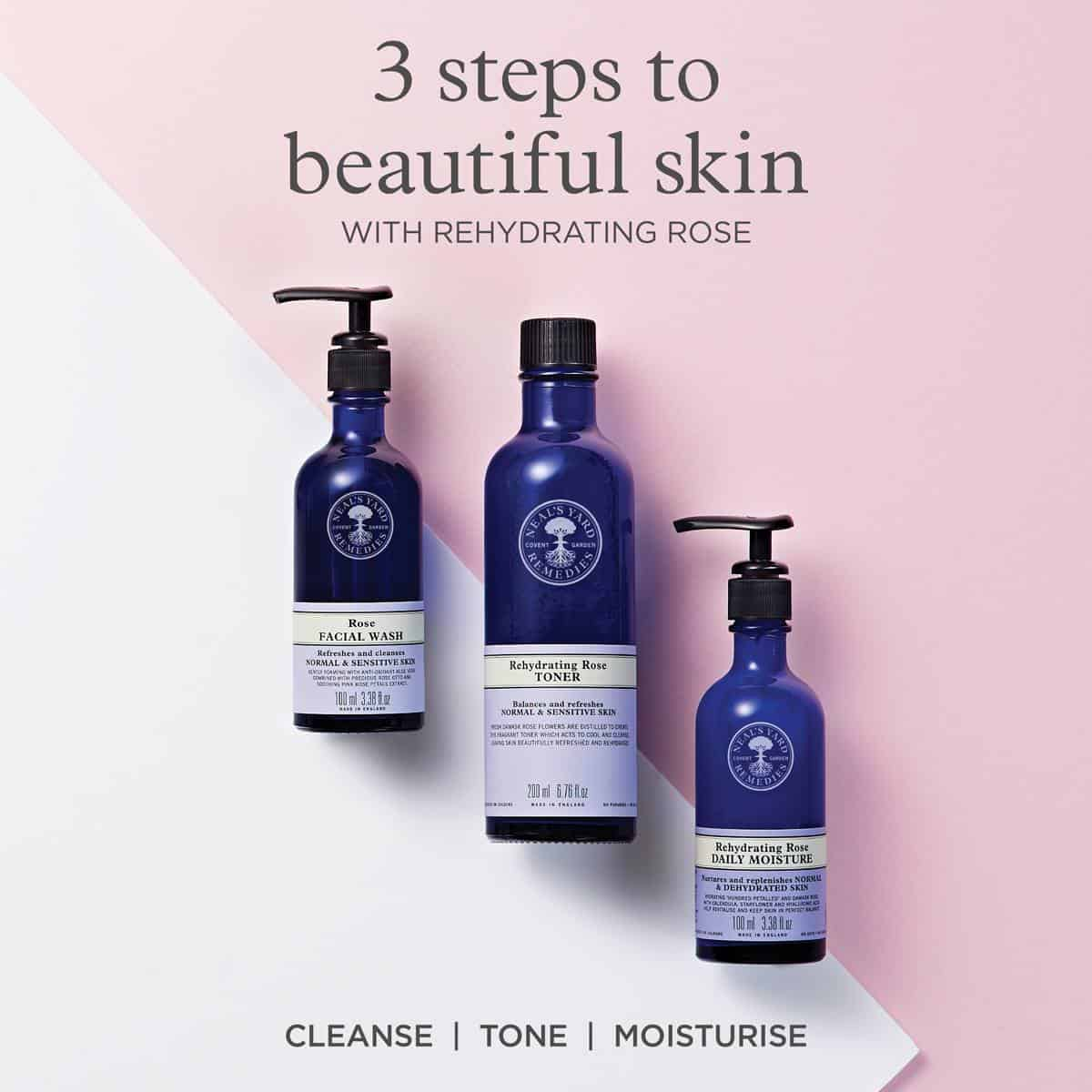 NYR Organic Neal's Yard Remedies Rose Skincare for Normal Skin