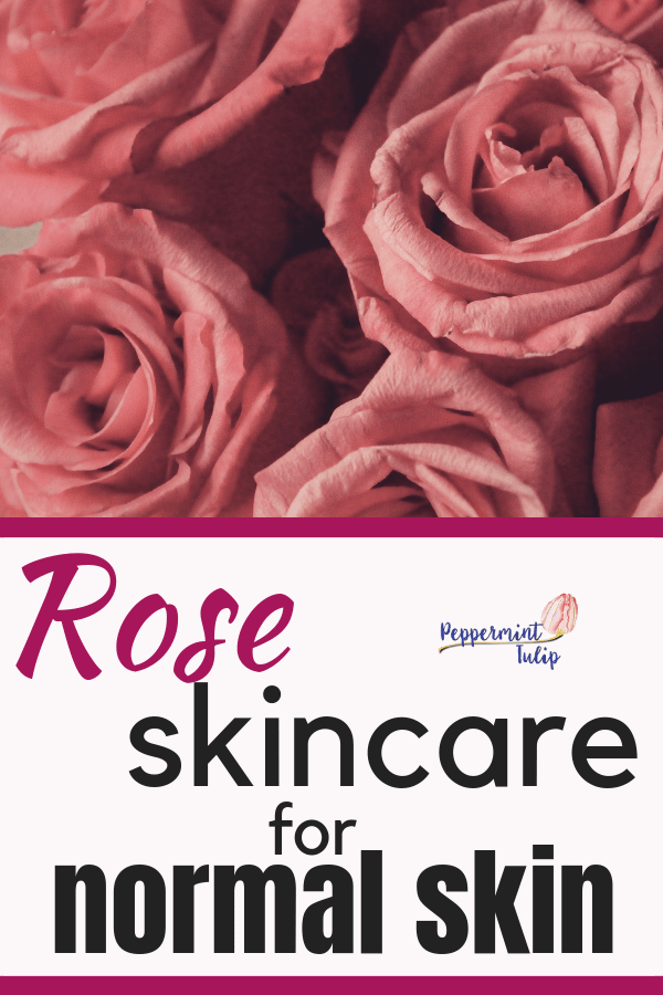 Rose Skincare for Normal Skin. Organic Skincare products from Neal's Yard Remedies. #nyrorganic #organicskincare