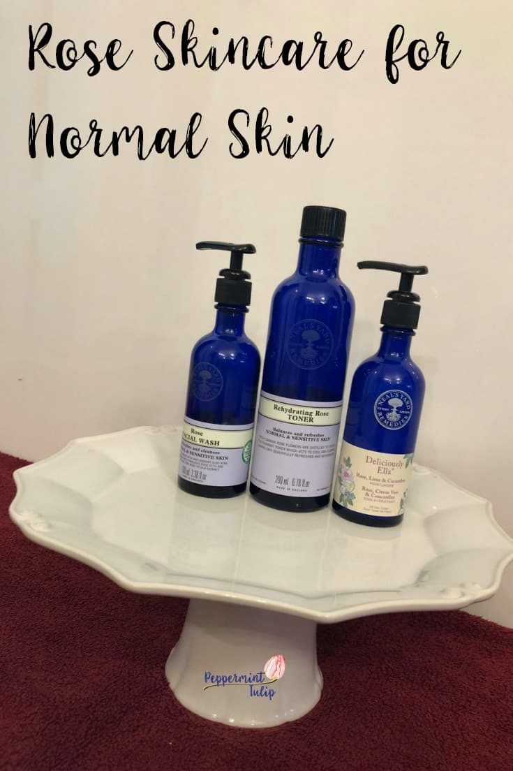 Rose Skincare for Normal Skin. Organic Skincare products from Neal's Yard Remedies. #nyrorganic