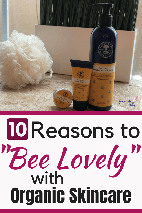 """10 Reasons to """"Bee Lovely"""" with Organic Skincare. A clean, organic product line by Neal's Yard Remedies and NYR Organic. #beelovely #savethebees"""
