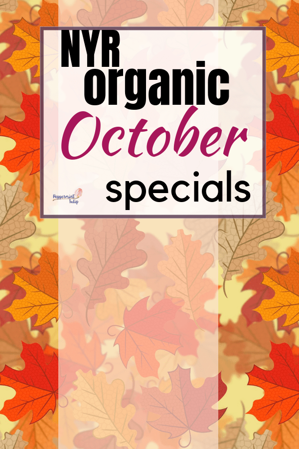 Check out these NYR Organic October specials - a customer gift with purchase and Hostess bundle with a diffuser and 4 essential oils. Want more info? Be sure to join https://www.facebook.com/groups/AliciasOrganicVIPs/