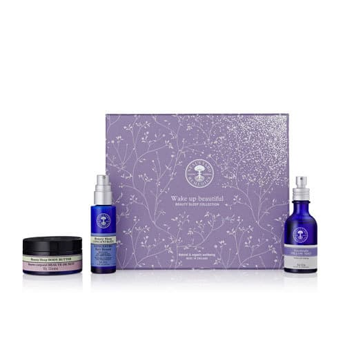 The Beauty Sleep Concentrate is my favorite! Get it and more in this gift set. Check out this and more organic gifts in the post! #giftideas #organicskincare #organic #essentialoils
