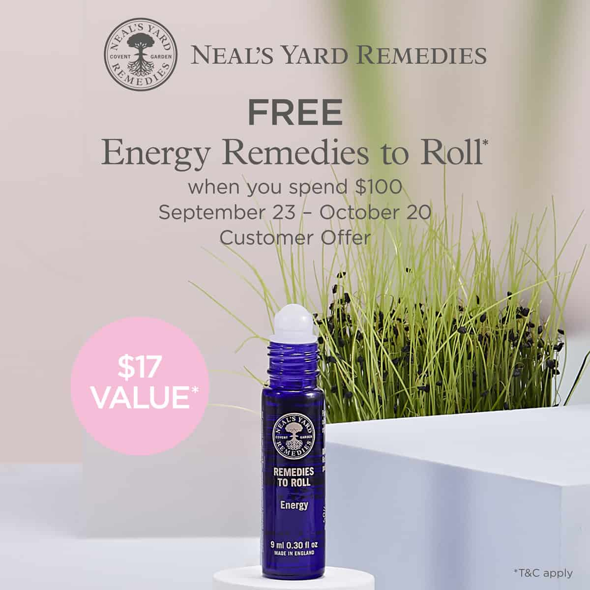 NYR Organic October Gift with purchase