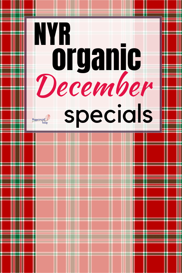 Check out these NYR Organic December Specials.... free hand cream with purchase and more! #nyrorganic #organicskincare #freegift
