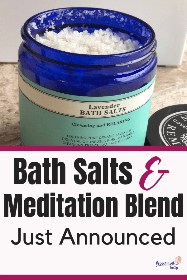 Four new products just announced from Neal's Yard Remedies! Want organic bath salts? This is as close as you will get!