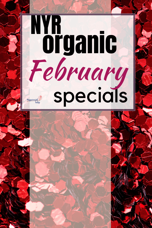 NYR Organic February Specials - Free rose toner and more! Check it out at pepperminttulip.com #organicskincare #cleanbeauty