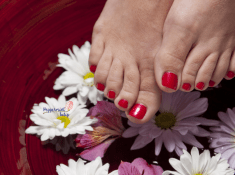 Get an Organic pedicure!
