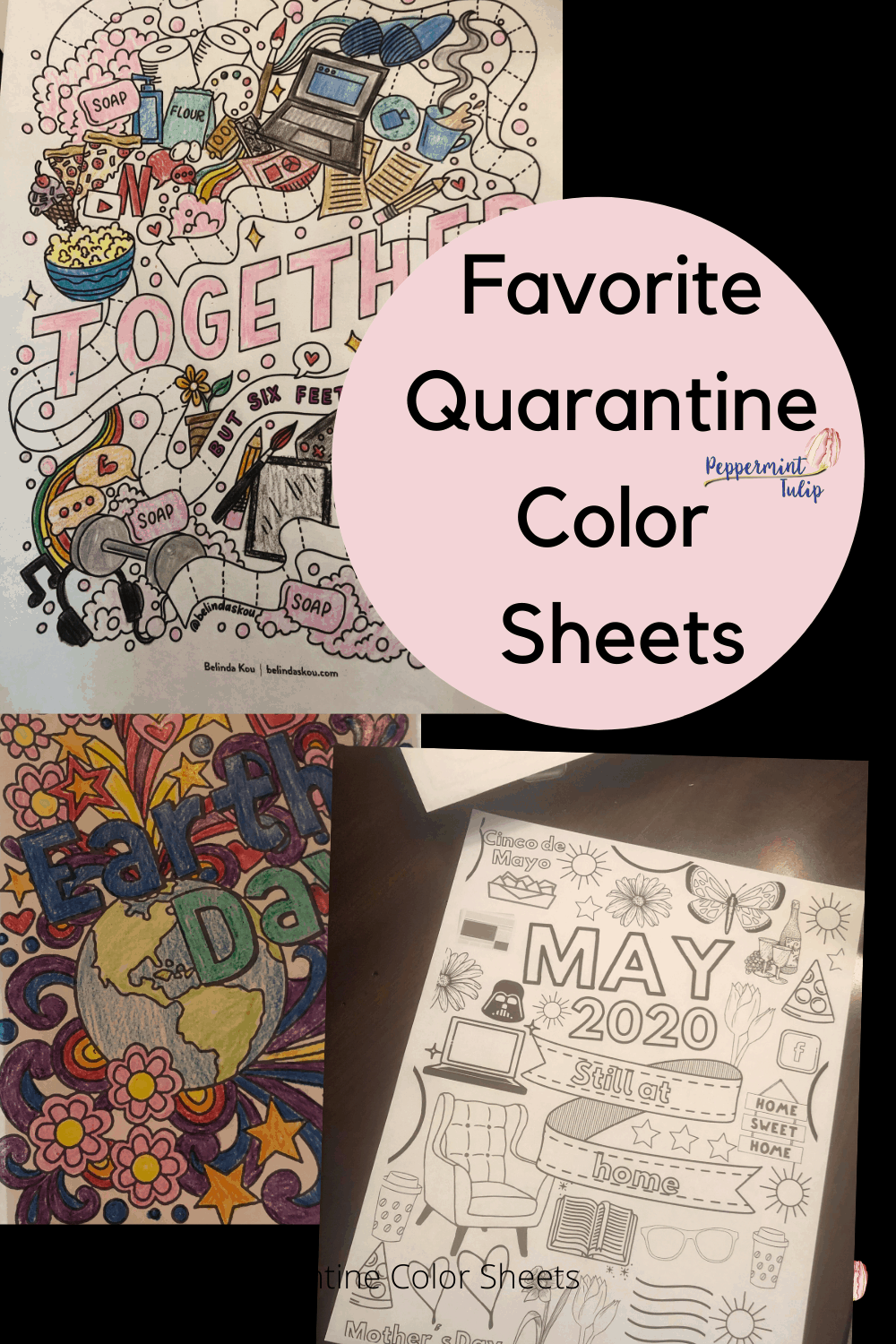 Favorite Quarantine Color Sheets